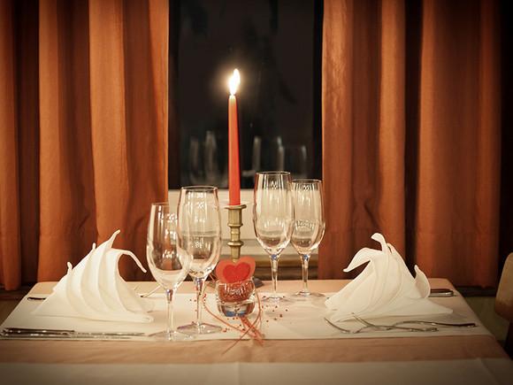 Candle light Dinner im Barockschloss Rammenau