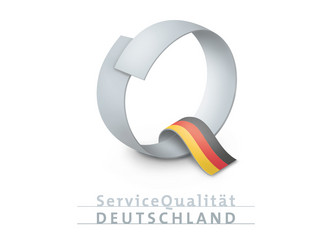 Schloesserland Sachsen recognized by the ServiceQualitaet Deutschland Initiative